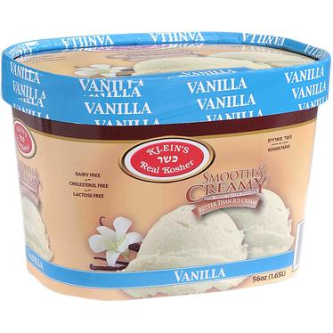 Vegan Non-Dairy Vanilla Ice Cream