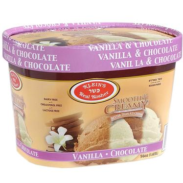 Vegan Vanilla & Chocolate Ice Cream