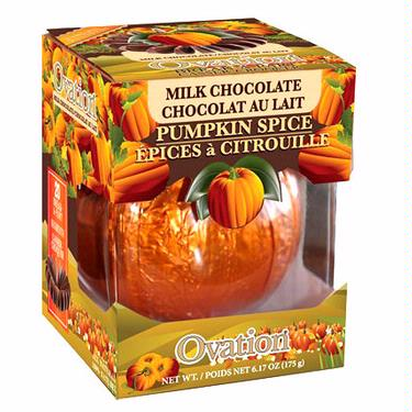 Milk Chocolate Pumpkin Spice Break a Part Ball