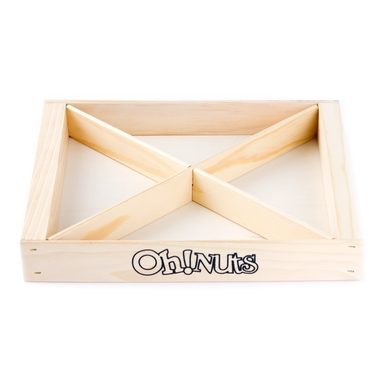 Holiday Oh! Nuts Wooden Tray