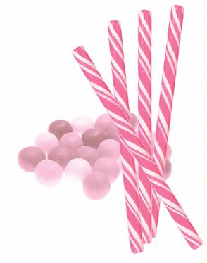 Bubble Gum Candy Sticks