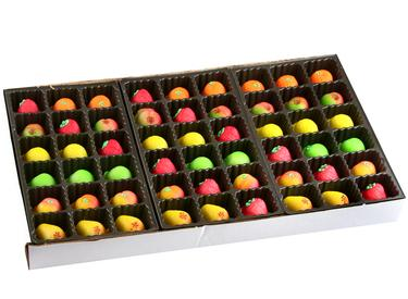 54-Piece Assorted Fruit Marzipan Box