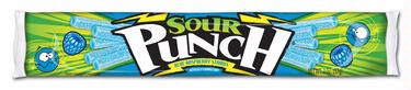 Sour Punch Blue Raspberry Licorice Straws