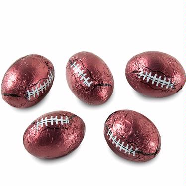 Milk Chocolate Sport Footballs