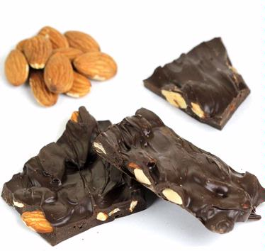 Dark Chocolate Almond Barks - 8 oz Box