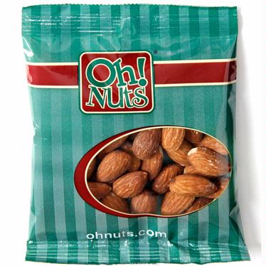 Roasted Unsalted Almonds Snack Packs - 12PK