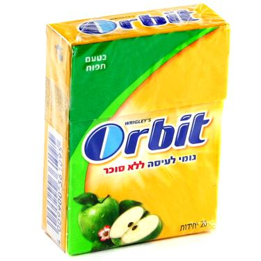 Orbit Apple Flavored Gum Pellets