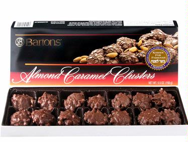 Bartons Caramel Almond Clusters
