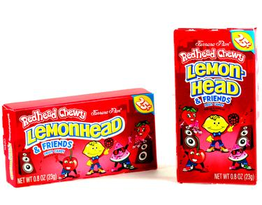 RedHead Lemonhead & Friends Mini Candy Balls