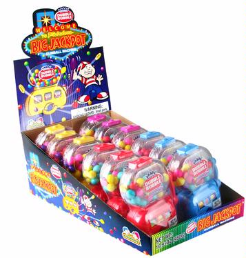 Big Jackpot Gumball Slot Machines - 12CT Box