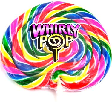 Jumbo 24-Ounce Rainbow Whirly Pop