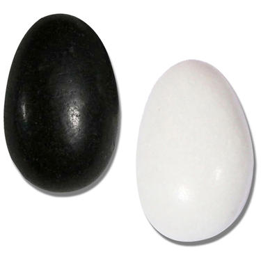 Black & White Jordan Almonds