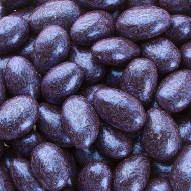 Blue Dark Chocolate Almond Jewels
