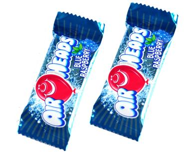 AirHeads Mini Taffy Bars - Blue Raspberry