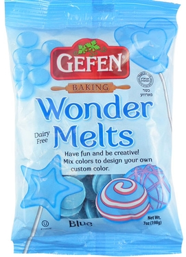 Non-Dairy Blue Melting Chocolate Wafers