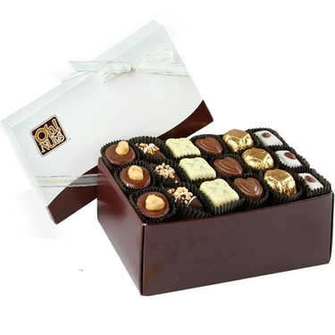 Oh! Nuts Chocolate Truffle Gift Box - 18 Pc.