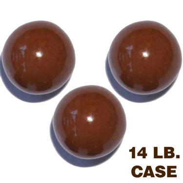 Brown Gumballs Root Beer 850ct 14lb Case Gumballs
