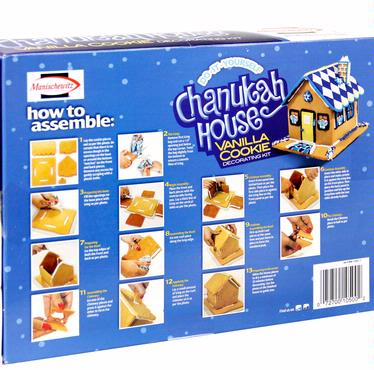Manischewitz Chanukah House Decorating Kit