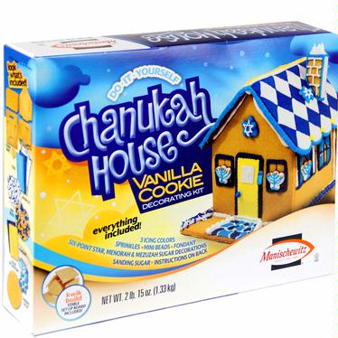 Seasonal Manischewitz Chanukah House Decorating Kit