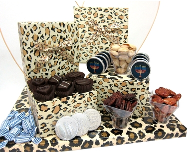Hanukkah Leopard Gift Boxes (Israel Only)