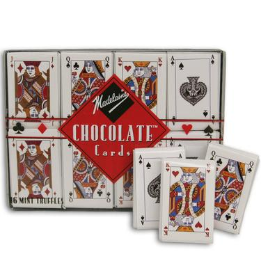 Milk Chocolate Playing Cards
