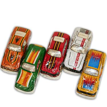 Milk Chocolate Super Race Cars - 60PK