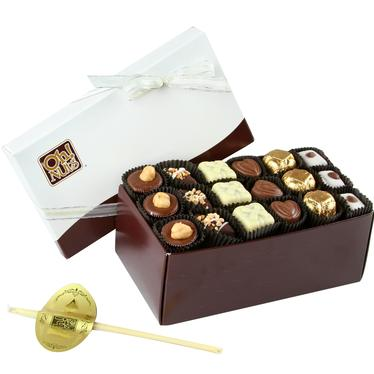 Hashanah Chocolate Truffle Box - 18 Pc.