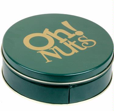 Holiday Chocolate Truffle Gift Tin