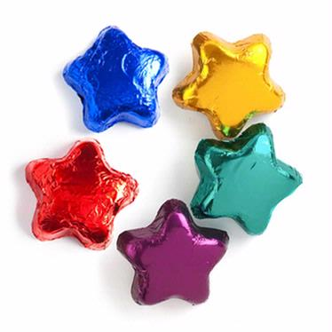 Assorted Dark Chocolate Stars (Dairy)