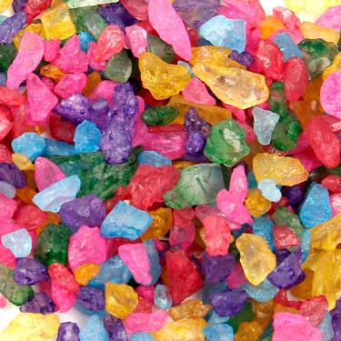 Colorful Rock Candy Crystals
