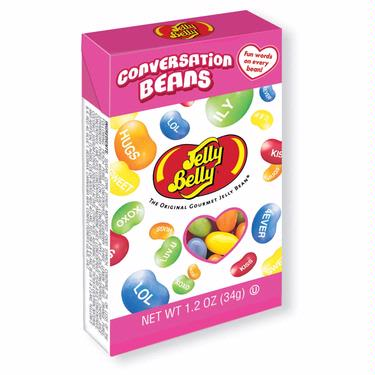 elly Belly Conversation Sour Jelly Beans 1.2 oz Box - 24CT Case
