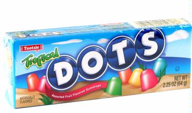 Tropical Dots Gumdrops Candy