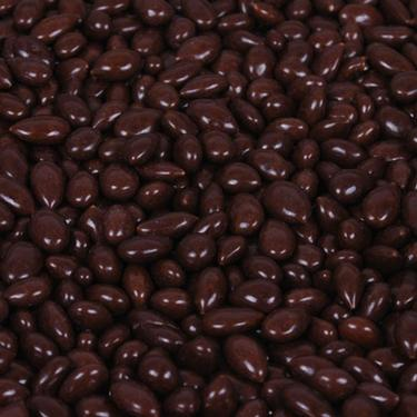 Deep Brown Chocolate Covered Sunflower Seeds