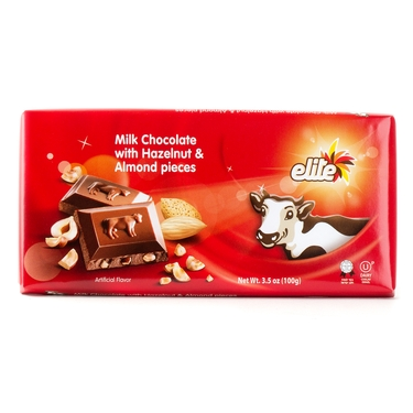 Elite Milk Chocolate with Nuts