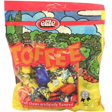 Elite Fruit Toffee Chews