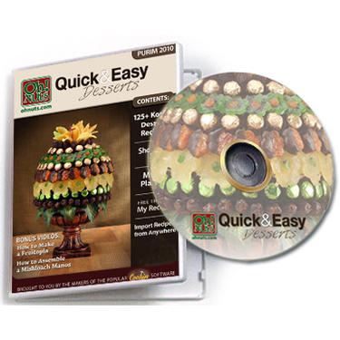 Purim Quick & Easy Desserts Software CD