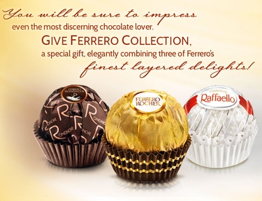 Ferrero Collection Chocolate Truffle Gift Box - 24 Pc.