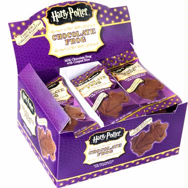 Harry Potter Milk Chocolate Frogs - 24CT Box