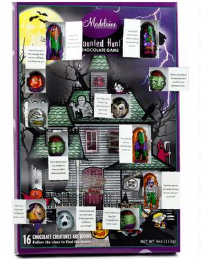 Halloween Haunted Hunt Chocolate Game Box - 1 Pc.