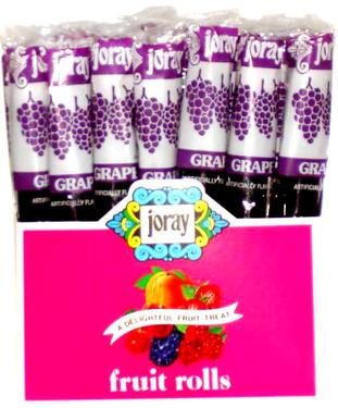 Grape Fruit Roll - 48CT Display Box