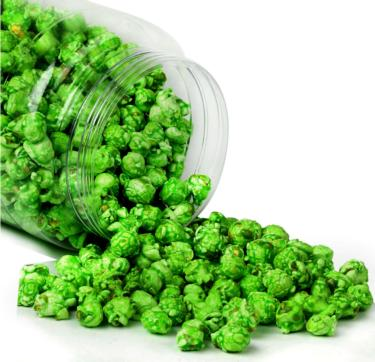 Green Apple Candy Coated Popcorn - 4 oz Bag - 6-Pack