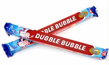 Dubble Bubble Big Bar Original Bubble Gum