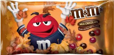 Harvest Blend M&M's Chocolate Candy - 12.6 oz Bag