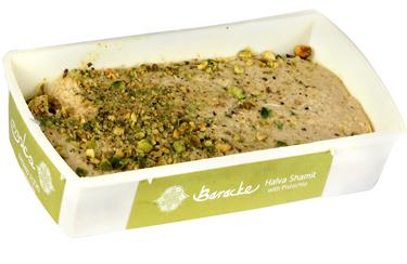 Shamit Halva with Pistachios