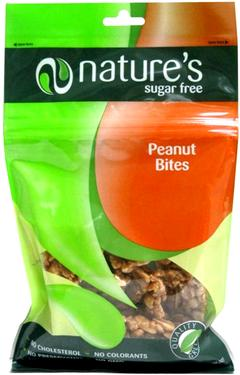 Sugar-Free Peanut Brittle Bites Bag