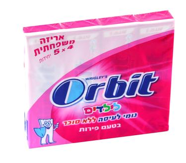 Orbit Kids Fruity Multi-Pack Gum Sticks