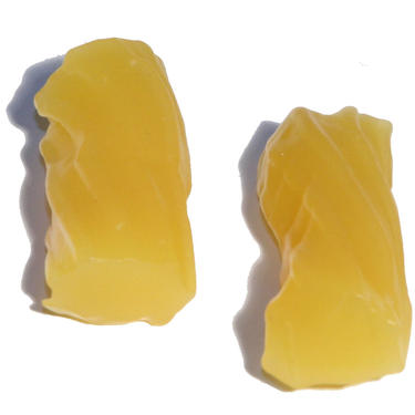 Yellow  Soft Licorice Logs - Pineapple