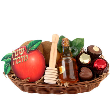 Sweet Treats Wicker Basket
