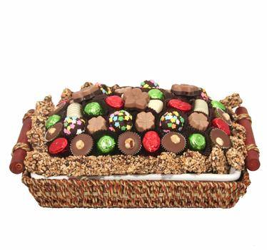 Holiday Heat & Serve Ceramic Basket