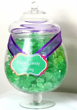 Green Rock Candy Strings - Lime